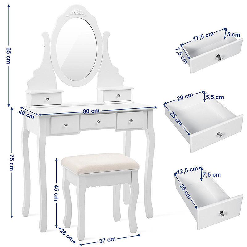 Toaletna mizica Elizabeth Charlotte