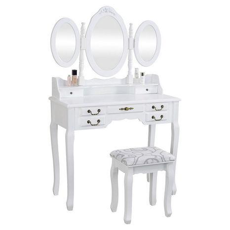 """Toaletna mizica Anne """"White"""" Henriette"""